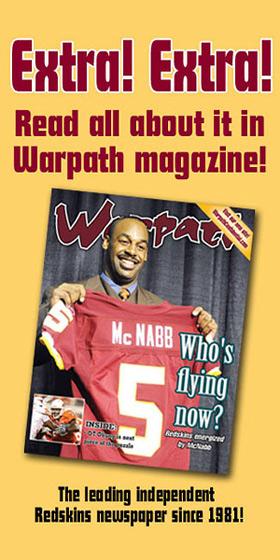 Redskins Warpath Magazine